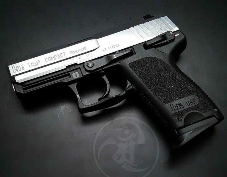 Two Tone Heckler and Koch USP Compact 9mm. Find our speedloader now! http://www.amazon.com/shops/raeind