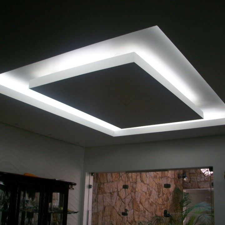 Sanca Iluminação Indireta | Gesso Rufino