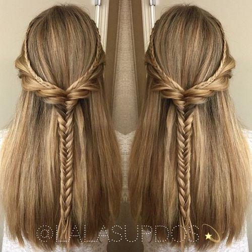 emma stone hairstyle : 17 migliori idee su Braided Half Updo su Pinterest Acconciature ...