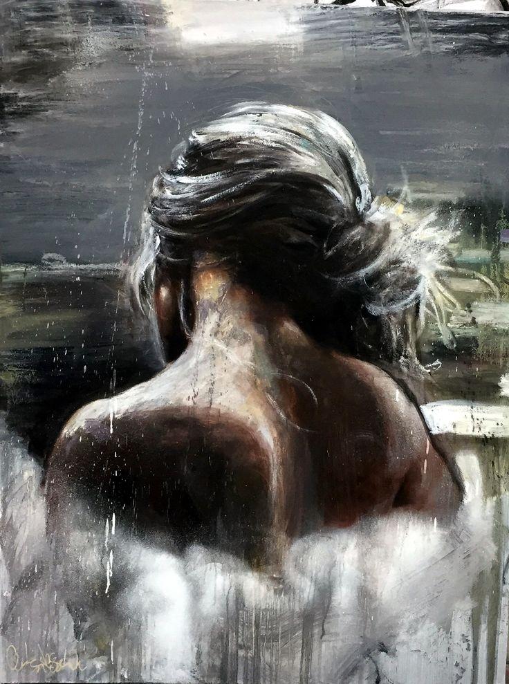 CECILE DESSERLE INSIDE SILENCE Format 116 x 89 cmTechnique huile sur toile | Cécile Desserle - Site Officiel