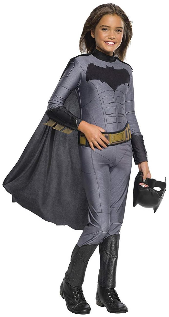 Delightful Ever So Lovely Justice League Movie Batman Girlu0027s Costume Jumpsuit. A Grand  Collection Of Superhero Costumes For Halloween At PartyBell.
