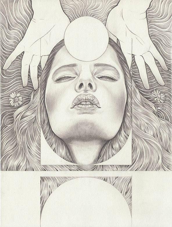 Martineken Blog • Beautiful drawings by Martine Johanna