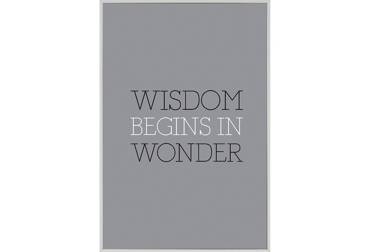 One Kings Lane - Upgrade Your Workspace - Wisdom Begins in Wonder