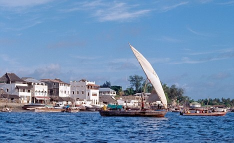 Historic: The waterfront at Lamu dates back to the Middle Ages Read more: http://www.dailymail.co.uk/travel/article-1206903/Kenyan-island-idyll-Lazy-luxuries-nature-living.html#ixzz2JqdXTVVw