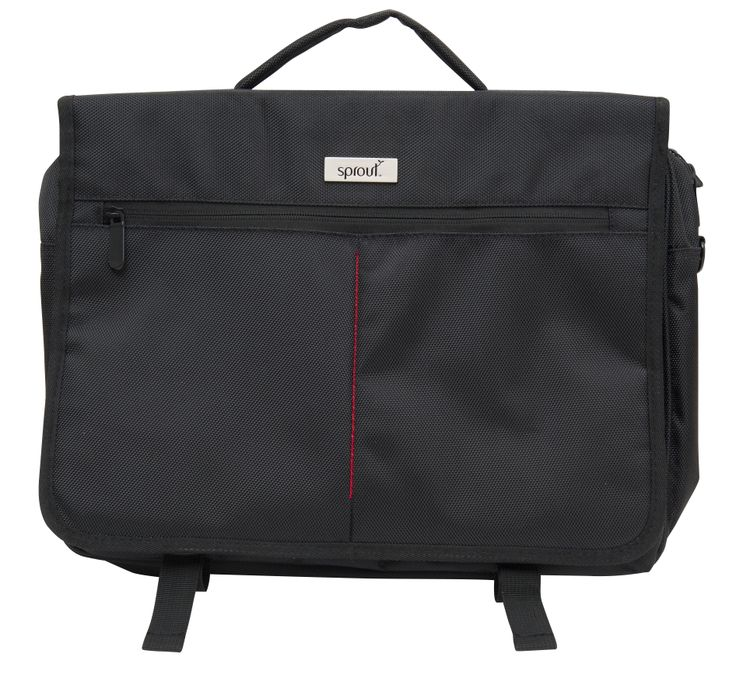 Always on the go? Conducting business on the run? The Sprout Business Satchel is the bag for you. Manufactured from the most durable materials, this bag is perfect for everyday use.  #sprout #freedomtogrow #businesssatchel #satchel #black #sleek #case #durable #storage #laptop #device #macgear