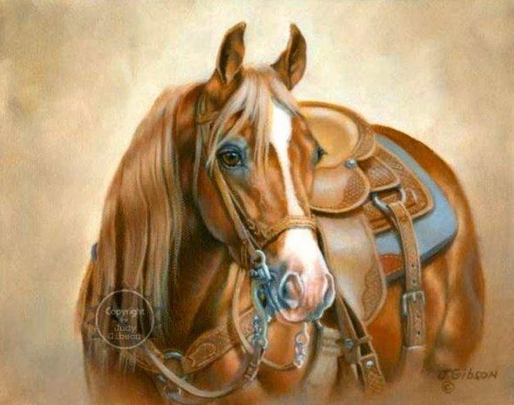 Pinturas al oleo de caballos pintor judy gibson artista for Comprar cuadros al oleo