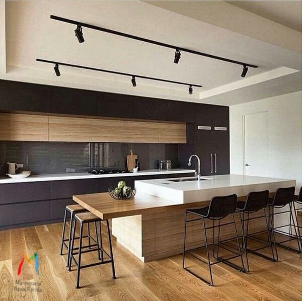 Useful Items Double As Decor In This Modern Kitchen(Mix Feelings)