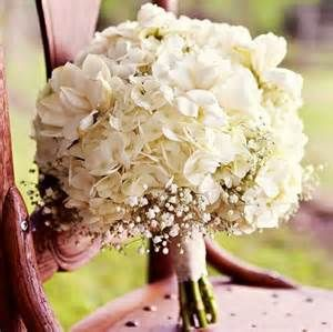 green hydrangea and babys breath wedding bouquets - Bing Images
