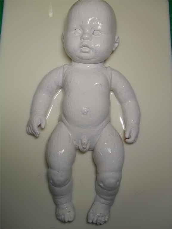 """Projet affiche de sensibilisation : le dénis de grossesse : """"bébés congelés"""" : corps conservé - la création - Copyright Lolo_0213"""