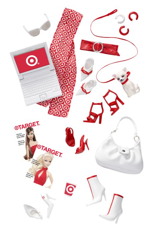 Barbie Back to Basics Basics Target Accessory Pack Look 2 Collection Red