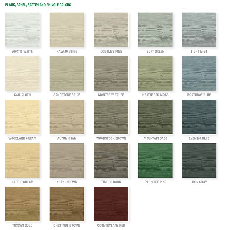 Shop James Hardie Prime Cedarmill Fiber Cement Lap Siding (Common: 8.25-in  x  Cottage Exterior ColorsExterior ...