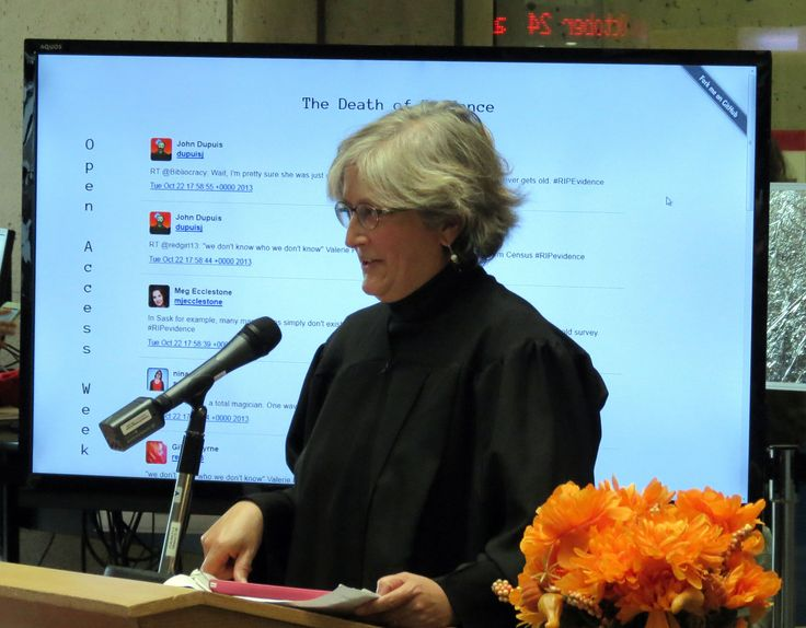 Dawn Bazely - Death of Evidence in #Canada, Oct.22 #YorkU #RIPevidence #OAweek