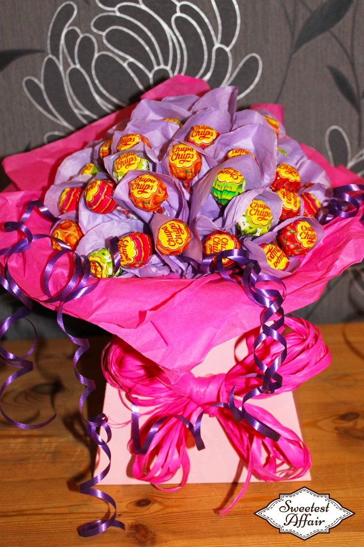 21 best sweet bouquet inspiration images on pinterest candy chupa chups lolly sweet bouquet httpebay izmirmasajfo