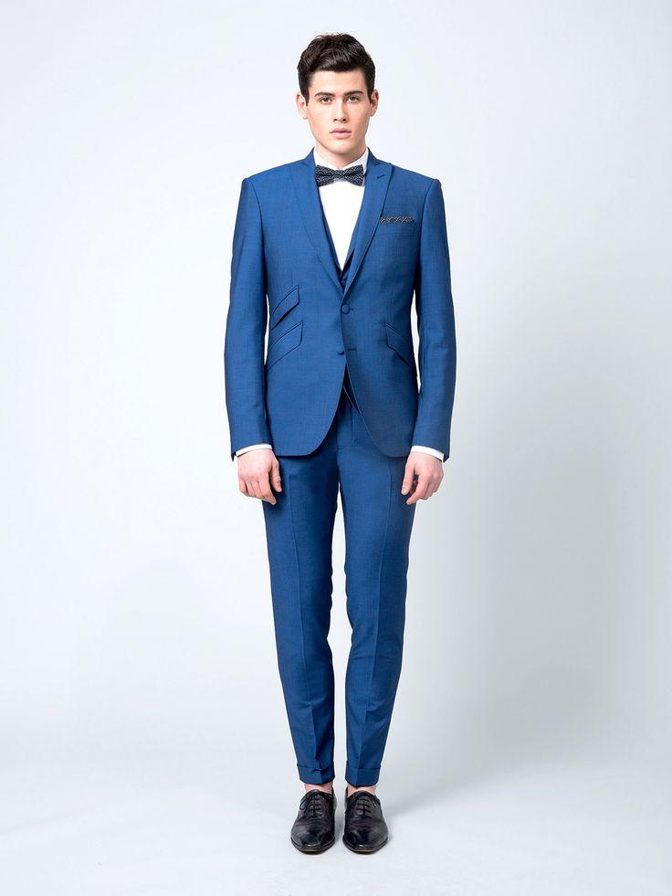 9 best costume homme bleu images on pinterest blue suits. Black Bedroom Furniture Sets. Home Design Ideas
