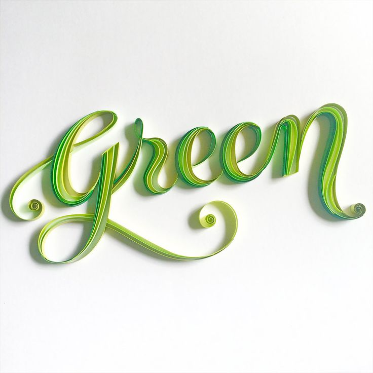 """Indian artist Sabeena Karnik creates outstanding three-dimensional typographic artworks out of colored pieces of paper.  She says that her work """"evokes many reactions from the viewer, especially because it is all handcrafted by me and nothing is done digitally"""".  More typography inspiration via Design You Trust"""