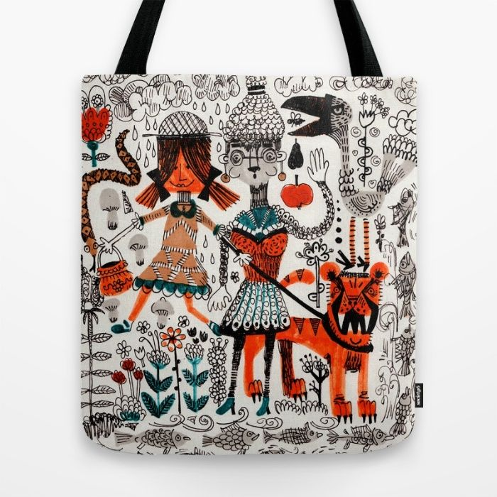 By The River Tote Bag by Hanna Ruusulampi | Society6
