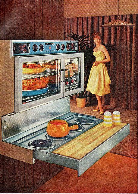 60 TAPPAN 400 RANGE AND OVEN: 400 Range, Vintage, 1960 Tappan, Fabulous 400, Him, Tappan Fabulous, Ovens, Midcentury, Design Photos