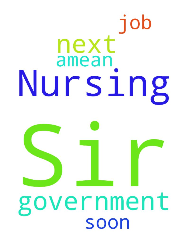 Dear Sir... I need prayer for my Next Government  Nursing - Dear Sir... I need prayer for my Next Government Nursing Job in the Jesus name as soon ... Amean  Posted at: https://prayerrequest.com/t/QlT #pray #prayer #request #prayerrequest