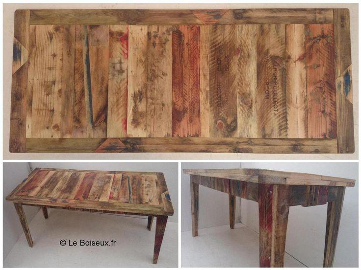 fabriquer une table a manger en palette free fabriquer un meuble de cuisine en bois chambre. Black Bedroom Furniture Sets. Home Design Ideas