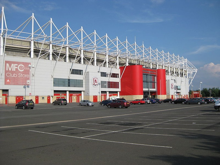 The home of the Boro-a special place indeed-sadly dad passed away before the Boro moved to this magnificent stadium