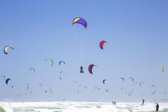 Guinness World Record in Cape Town! Virgin Kitesurfing Armada - 415 kitesurfers! by SeeOneSoulPhotography.co.za