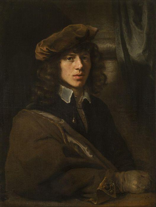 Ferdinand Bol. Portrait of Carel Fabritius (mid. 1640s, Hermitage Museum, Saint Petersburg)