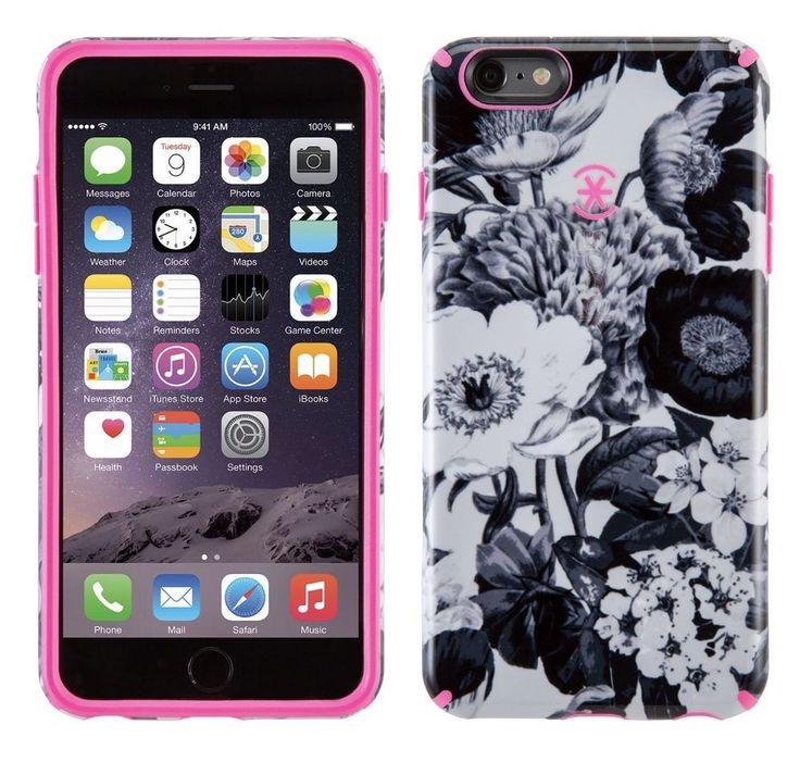 Speck iPhone 6 Plus Candyshell Inked Case  Vintage Boquet Grey  | eBay