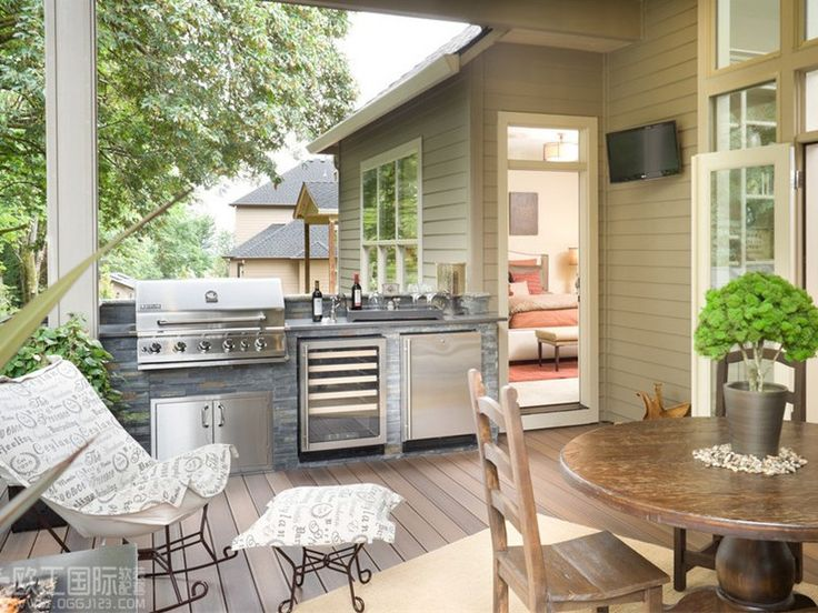 Awesome Outdoor Kitchen Design