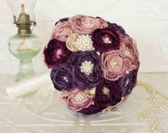 Custom Listing for Elizabeth  Ivory Burgundy and Dusty Pink