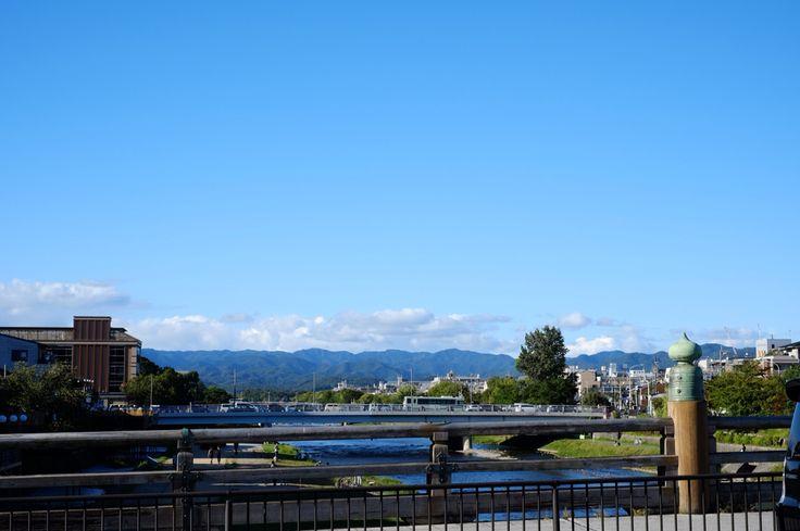 京都_三条大橋・・・だったかな