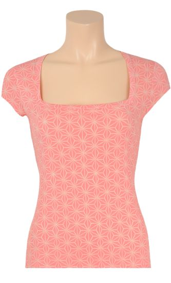 € 39,95 Square top Summer star ♡ Vintage Inspired Summer | #Print | King Louie SS 2015 ♡