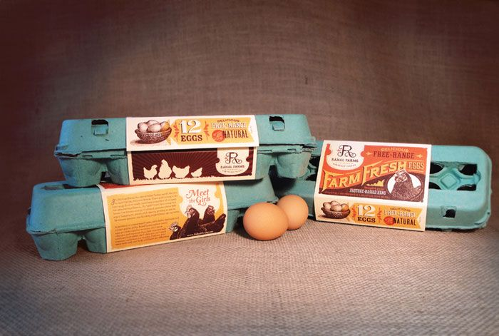 sweet egg packaging