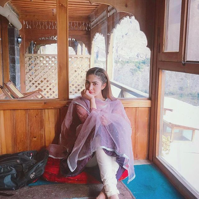 Naimal Khawar best outfits