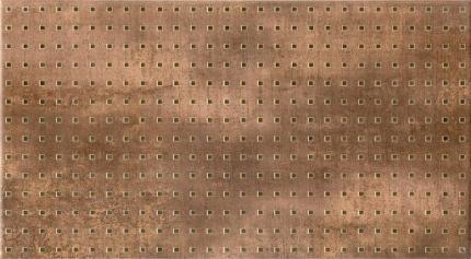 """KEROS CERAMICA - DECORADO FUSION MARRON - 33x60 / 13""""x24"""""""