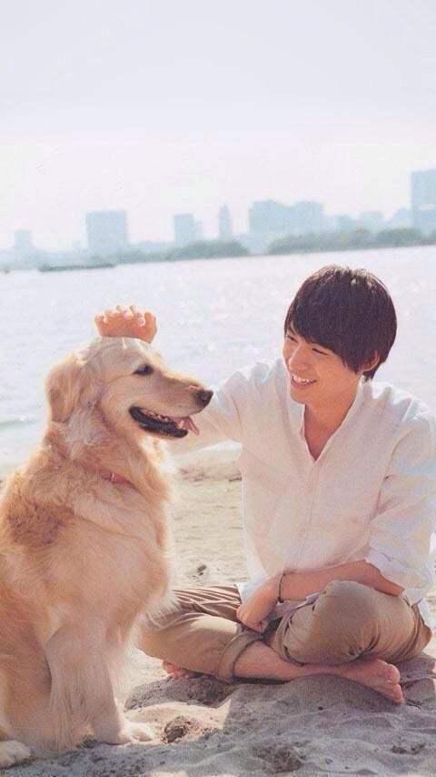 Aww que lindo..♥♥ el perro :v ok´no -Sota Fukushi♥