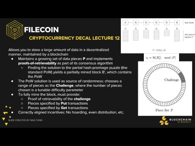 Lecture 12: Advanced Topics in Cryptocurrencies https://www.youtube.com/watch?v=pwtTgvi0Wpo