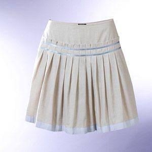 El costurero de Stella, curso gratis: Falda de prenses seguidos o plisada.