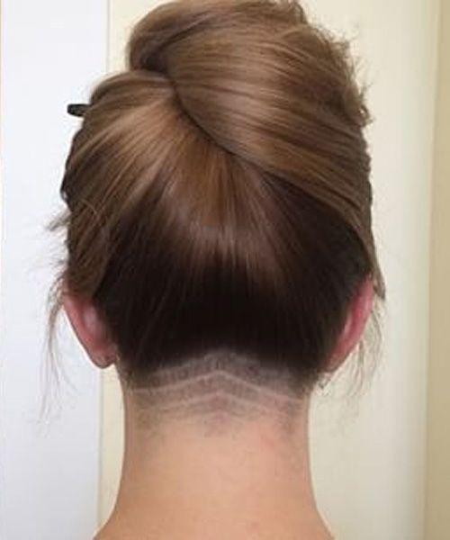 New Pretty Neck Undercut Prom Hairstyles 2016
