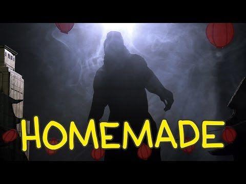 Homemade Remake of the 'Godzilla' (2014) Trailer