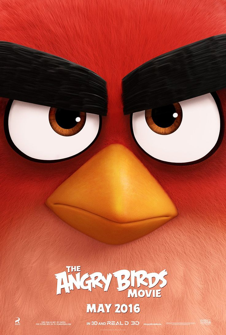 The Angry Birds Movie, Star-Studded Animated Comedy Film Based on the Angry Birds Video Games