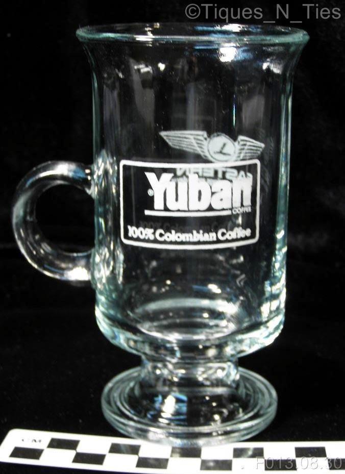 80s Anchor Hocking Eastern Airlines Yuban Coffee Promotional Irish Coffee Mug @eBay #tiques_n_ties #ebay #vintage #trentonnj #yubancoffee #easternairlines #easternair #vintageairlines #restaurantchina #rwcn
