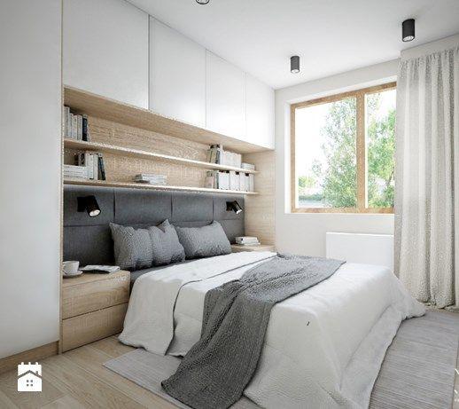Aranżacje wnętrz - Sypialnia: Mieszkanie 92m2 - Sypialnia, styl nowoczesny - Pracownia Architektoniczna Małgorzaty Górskiej-Niwińskiej. Przeglądaj, dodawaj i zapisuj najlepsze zdjęcia, pomysły i inspiracje designerskie. W bazie mamy już prawie milion fotografii!