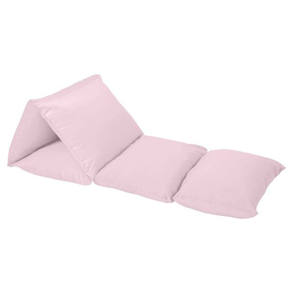 The Lounger Floor Pillow Cover by Sweet Jojo Designs will add extra seating space that's kid friendly. Simply insert 5 standard pillows of your choice into each of the connected zippered cases. Lay flat to lounge or fold under to use in a seated or reclining position. Features: This is a pillow lounger cover only. Brushed Microfiber. Easy machine washable and dryable. Love the fabric style? Sweet Jojo Designs also makes bedding and decor accessories in this exclusive pattern.