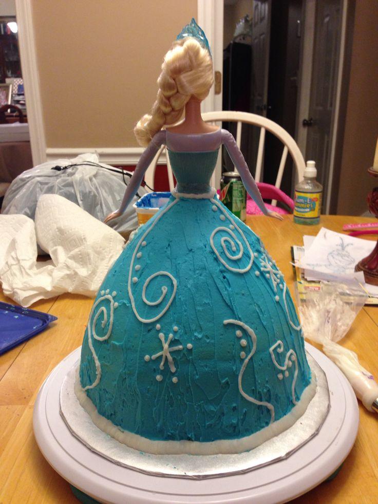 Elsa Barbie cake Birthday Pinterest Cake