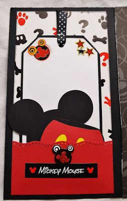 Adventures in Paperland: Disney Mini Album, Part 5