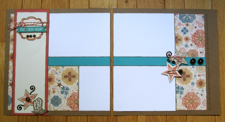 LOVE this layout with new CTMH Clemintine paper by Jennifer Kelly