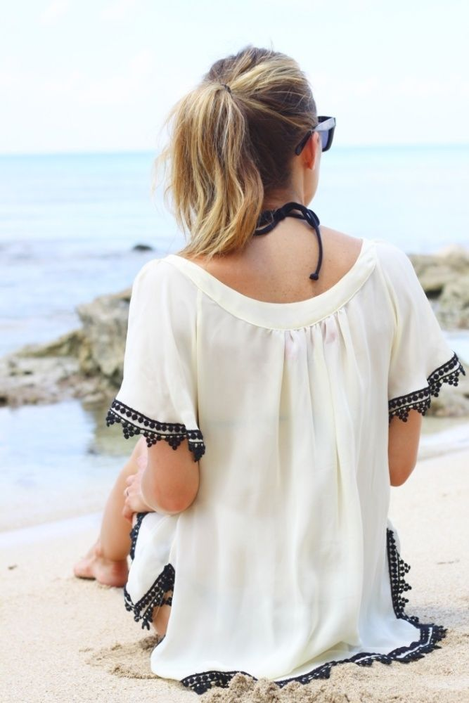 Beach Bound Dresses + Cover-ups #style #fashion For more tips + ideas, visit www.makeupbymisscee.com
