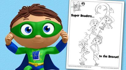 sprout character coloring pages - photo#42