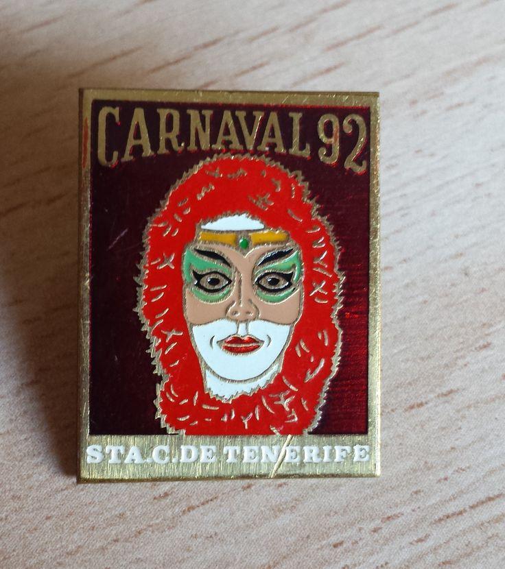 Pin año 92, Carnaval de Santa Cruz de Tenerife