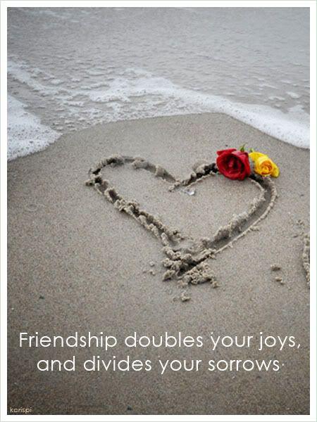 Friendship Quote http://decentscraps.blogspot.com/